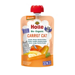 Mus Carrot Cat BIO 100 g - Holle