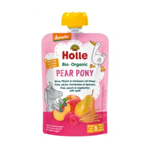 Mus Pear Pony BIO 100 g - Holle